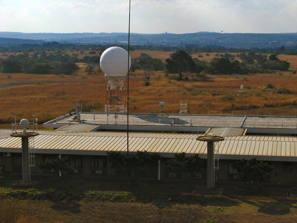 Radar in Pretoria, Südafrika
