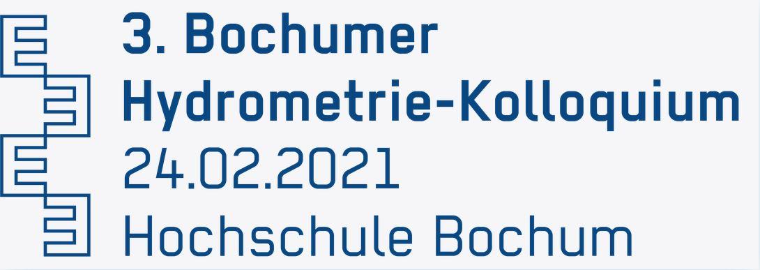 Logo 3. Bochumer Hydrometrie Kolloquium