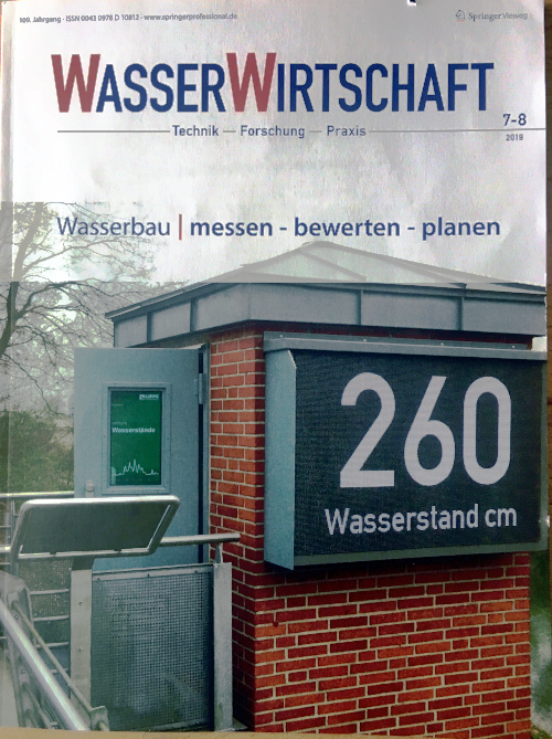 title of the current issue WasserWirtschaft