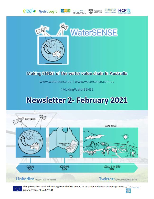 titel WaterSENSE 2nd Newsletter