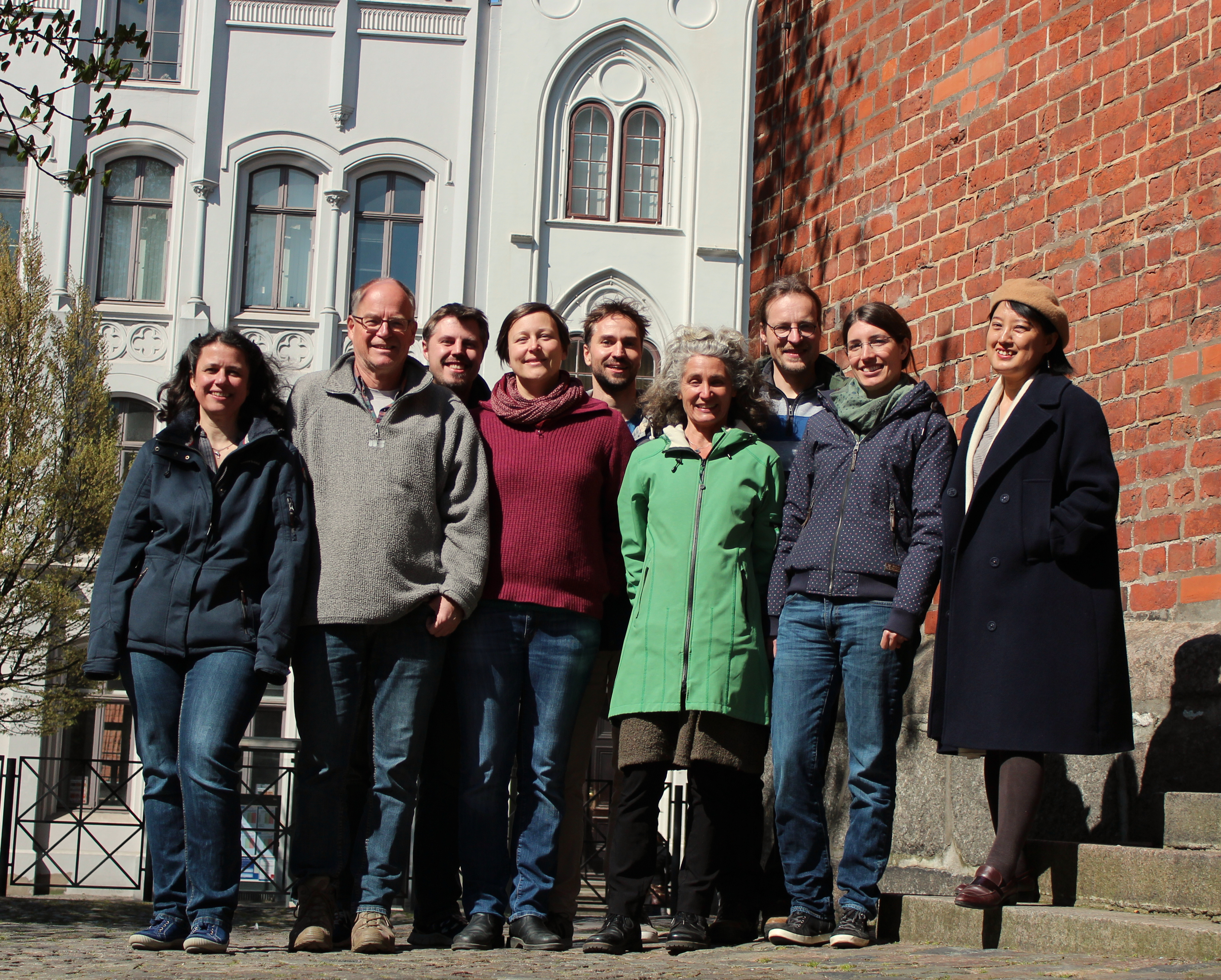 the team of hydro & meteo GmbH & Co.KG in spring 2019