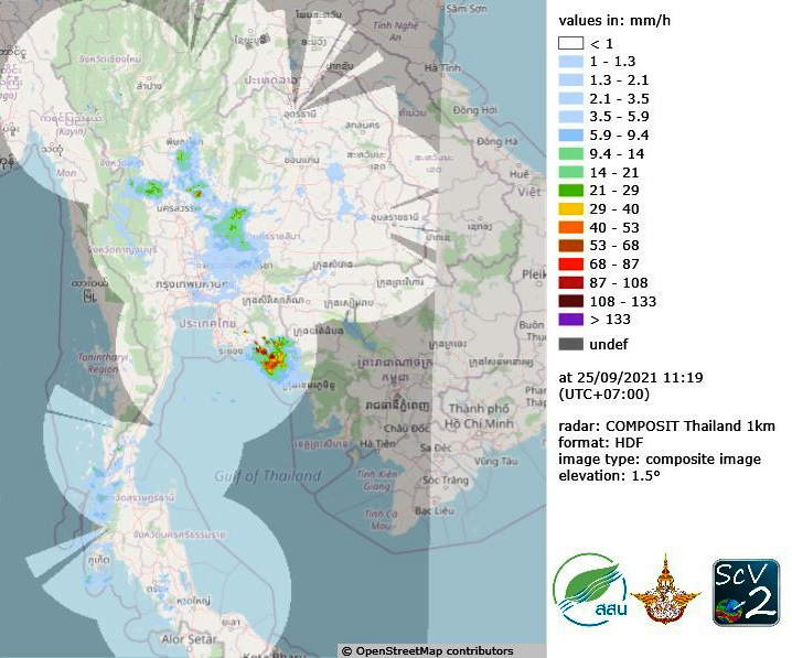 thai-radar composit